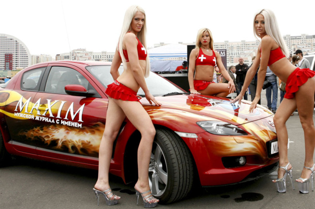 Mazda для Miss MAXIM-2