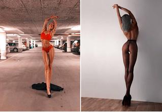 Шведская модель с феноменально длинными ногами покоряет Инстаграм! (И наши сердца!)