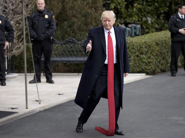 Фото №10 - Странная тенденция моды от Дональда Трампа — невероятно длинные галстуки!