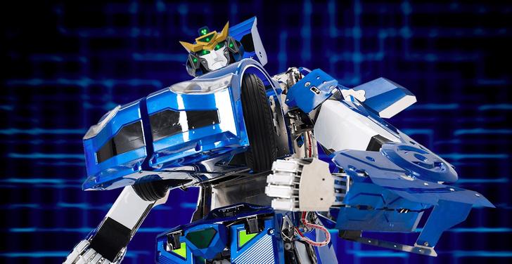 Фото №1 - Японский робот-трансформер пересобирается в автомобиль за минуту! (ВИДЕО)