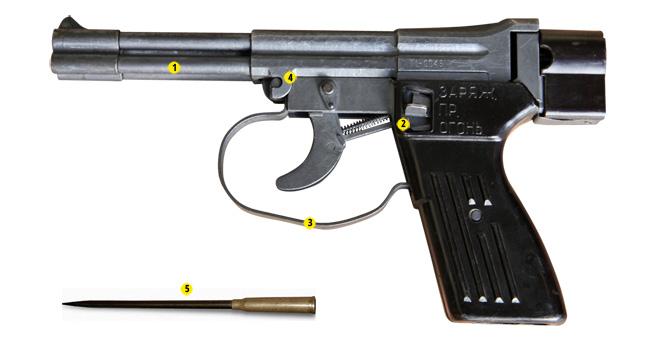 Специальный пистолет подводный СПП-1М