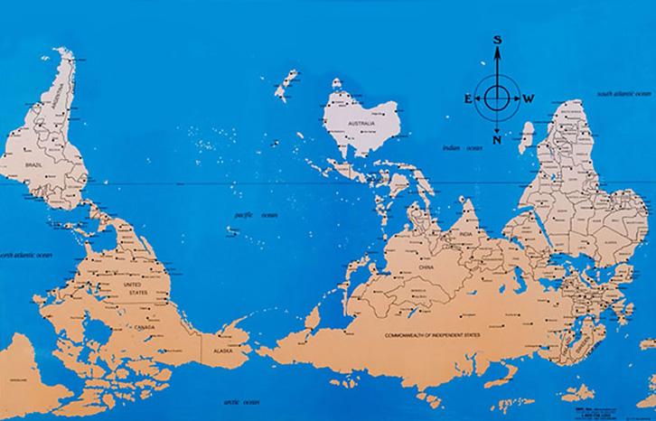 Фото №3 - Как выглядят карты мира в учебниках других стран
