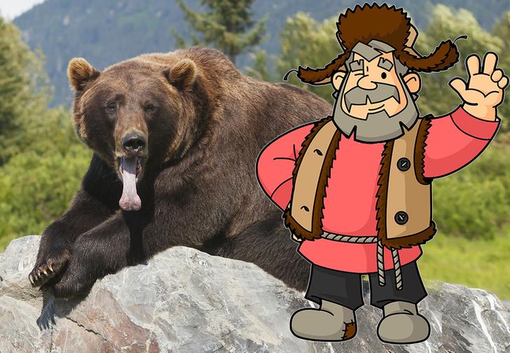Фото №1 - Сибиряк отбился от медведя, откусив ему язык