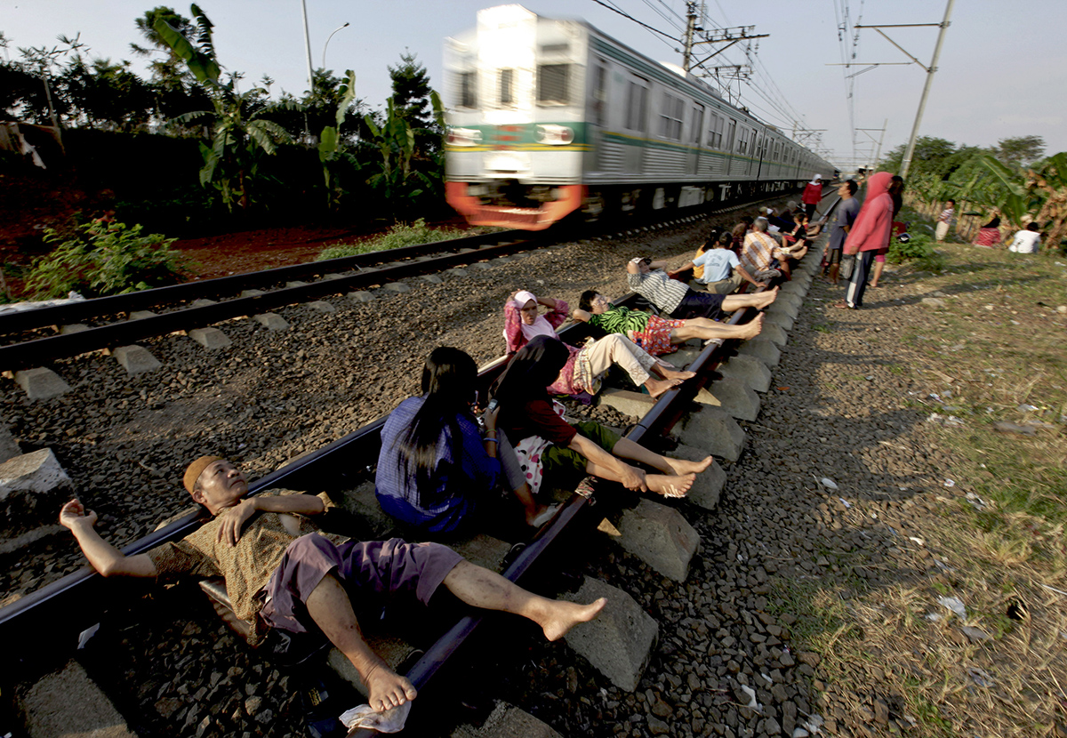 Можно ли фотографию на железной дороге