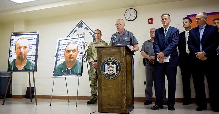 Полиция штата отчитывается о задержании Джойс и продолжении поисков Свита и Мэтта