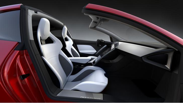 Фото №8 - Tesla представила новый спорткар, и он слишком быстр для этой планеты