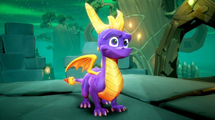 Фото №1 - Переиздается одна из самых известных игр для PlayStation — Spyro the Dragon (ВИДЕО)
