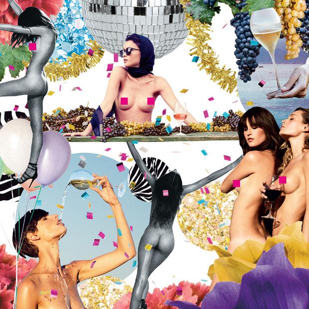 Фото №4 - Календарь о вине и женской красоте от японской художницы