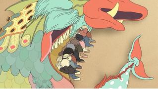 Безумный австралийский мультфильм «Выход на сушу» (ВИДЕО)