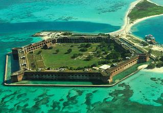 Идеи для отпуска: Форт Джефферсон, США