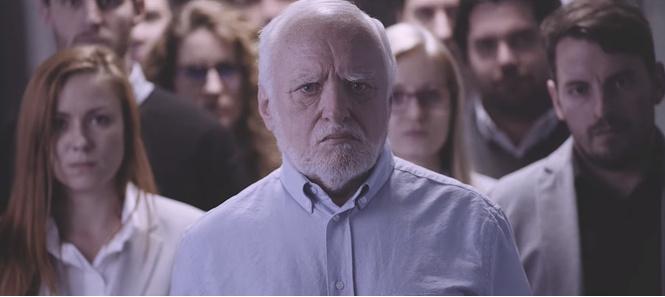 Гарольд, скрывающий боль, снялся в эпичном клипе группы Cloud 9+!