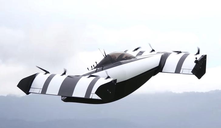 Фото №1 - В США выпустили летающий автомобиль (ВИДЕО)