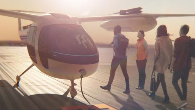 Uber подписал договор сNASA наразработку летающего такси