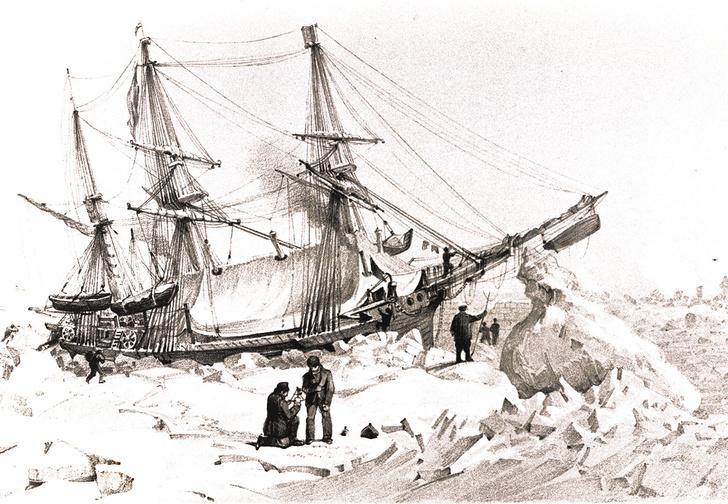 Фото №2 - Потерянное покорение: что в действительности случилось с пропавшими кораблями «Эребус» и «Террор»