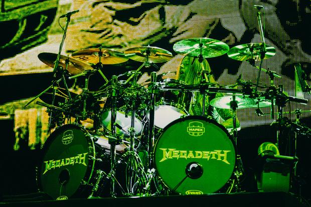Фото №23 - Megadeth подняли температуру в Москве — посмотри и приобщись!