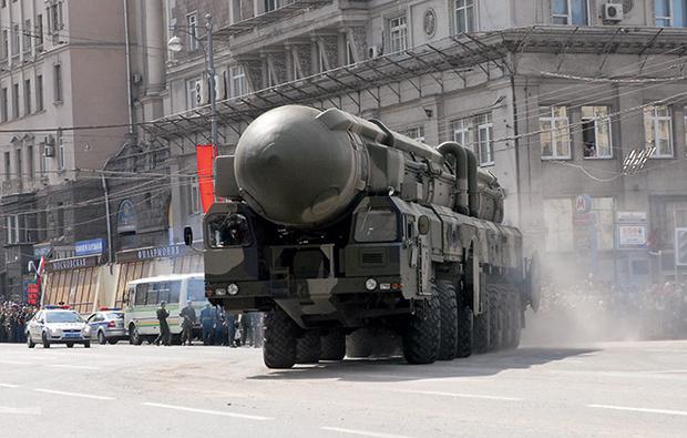 Межконтинентальный мобильный ракетный комплекс РТ-2ПМ Тополь