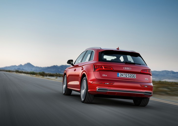 Фото №6 - Встречай новый кроссовер Audi Q5