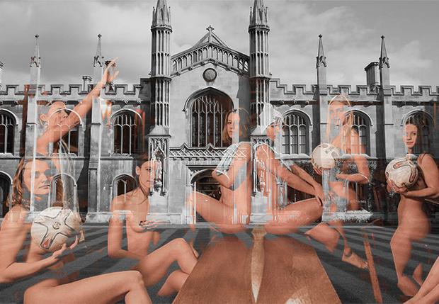 Фото №1 - Студентки Кембриджа разделись для календаря
