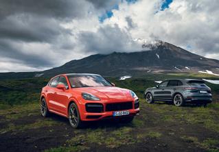 Porsche Cayenne Coupe: строчка в техпаспорте
