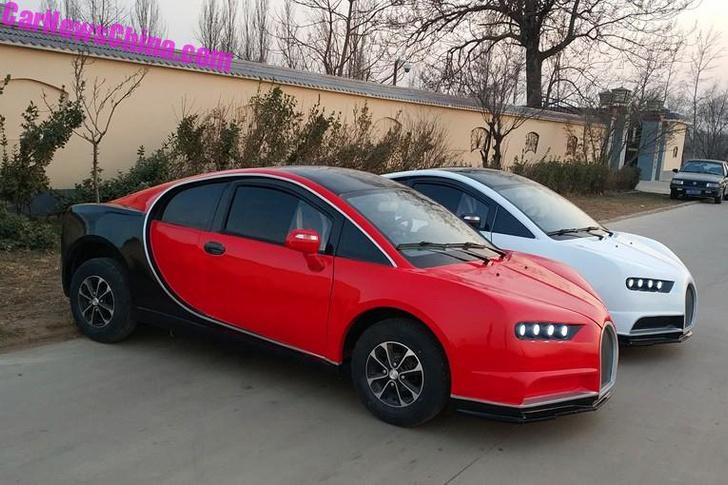 Фото №5 - Китайцы сделали копию Bugatti! И ее можно купить всего за 300 тысяч рублей!