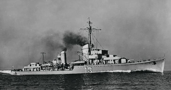 Эсминец «Георг Тиле», 1940 год
