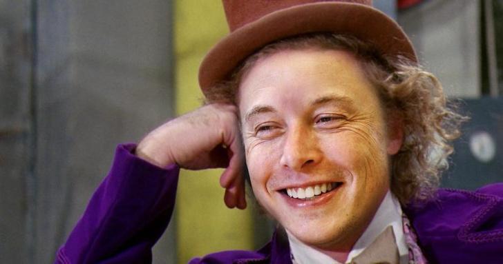 Фото №1 - Илон и шоколадная фабрика: основатель Tesla и SpaceX решил заняться сладостями