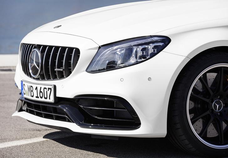 Фото №3 - Выход силы. Mercedes-AMG C 63 S