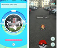 Процесс игры Pokemon Go