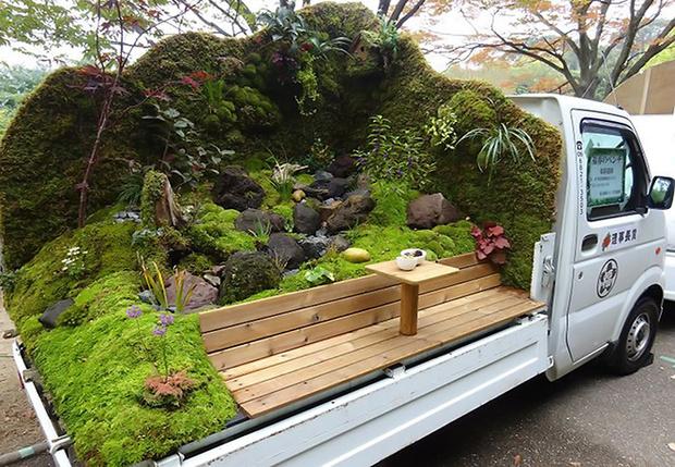 Фото №1 - В Японии опять прошел конкурс «Сад в кузове машины». И это невероятно!