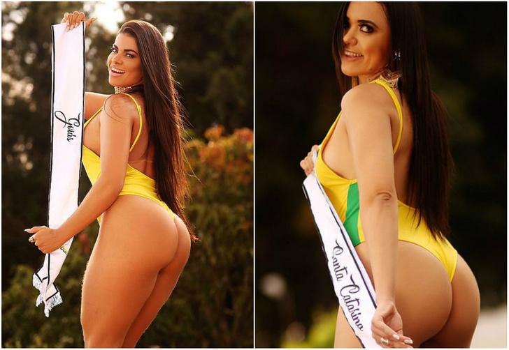 Фото №1 - Поприветствуем участниц самого последнего конкурса «Лучшая попа Бразилии»!