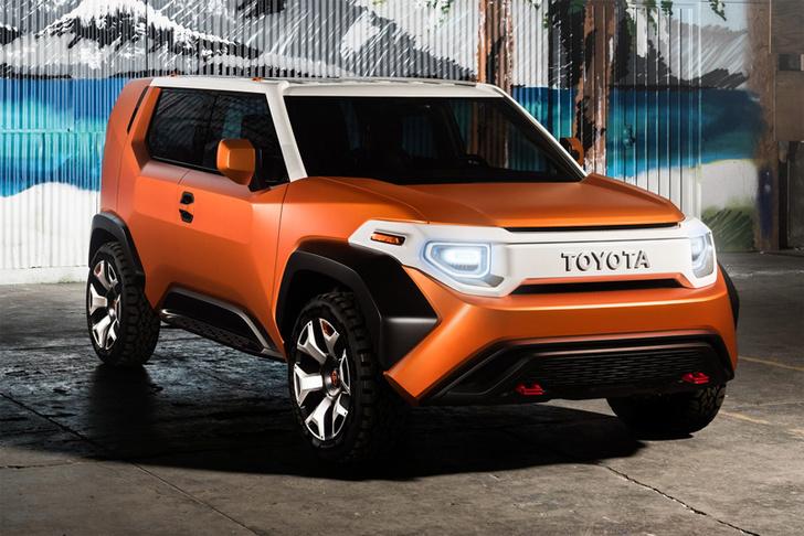 Фото №2 - Toyota FT-4X показывает, что маленькие кроссоверы могут быть брутальными