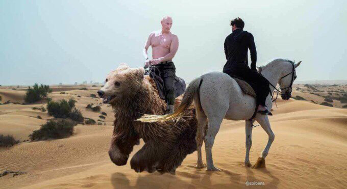 Фото №1 - Павел Дуров на коне: лучшие фотожабы!