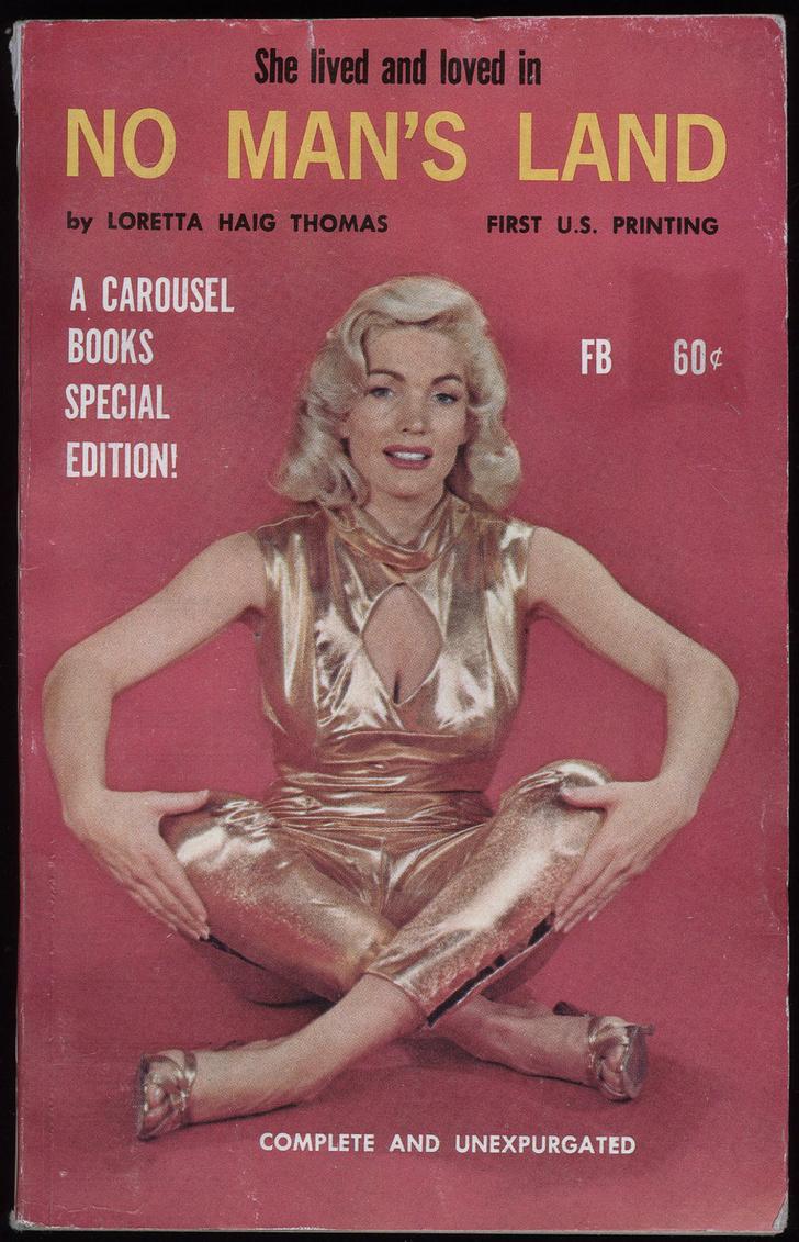 Фото №6 - Обложки старых эротических книг про лесбиянок!