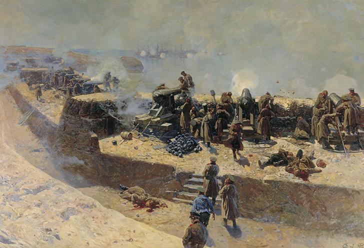 Фото №3 - Бодалась шляпа с сараем: история первого в мире морского боя между броненосцами