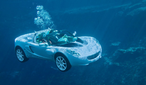 Фото №4 - И поехать, и поплыть: самые странные и успешные попытки создать «лодкомобиль»