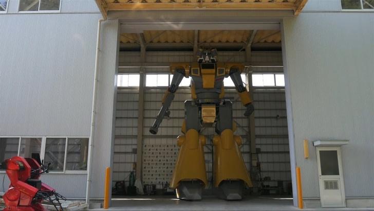 Фото №1 - Японец строит гигантского робота (ВИДЕО)