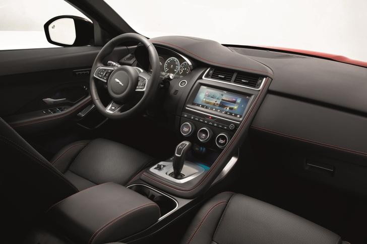 Фото №3 - Шесть личностей в одном Jaguar E-PACE
