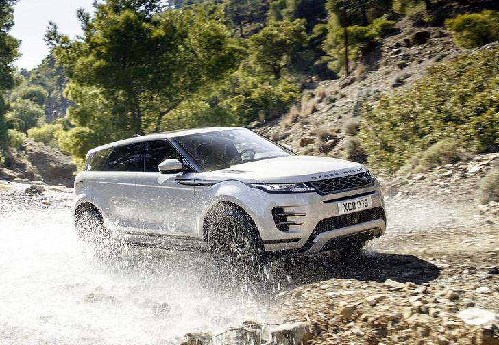 Фото №1 - Новый Range Rover Evoque стал копией супермодного «Велара»