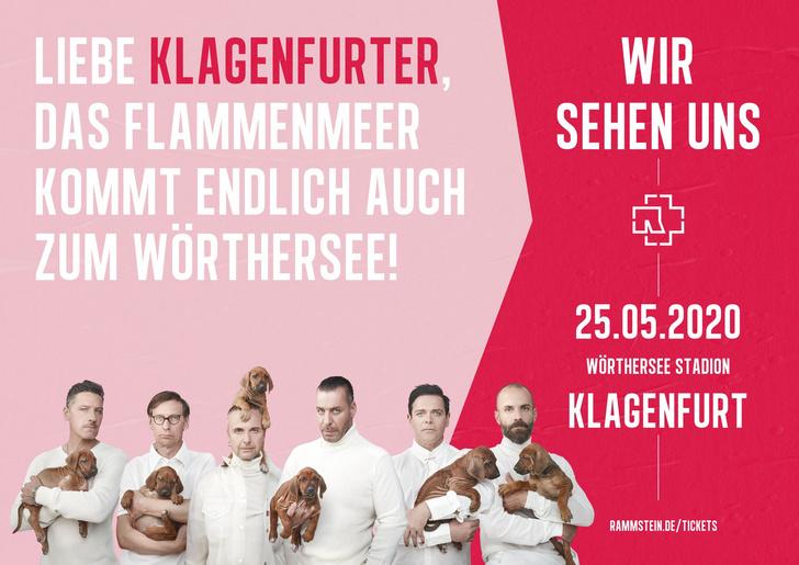 Фото №16 - Rammstein выложили ироничные плакаты к своему концертному туру