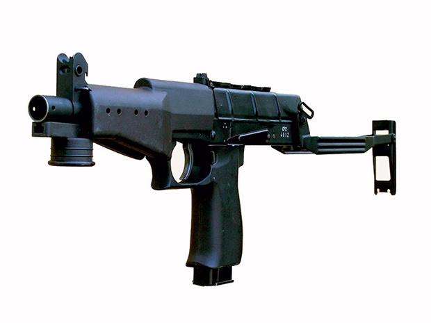 Фото №1 - Как устроен пистолет-пулемет «Вереск»