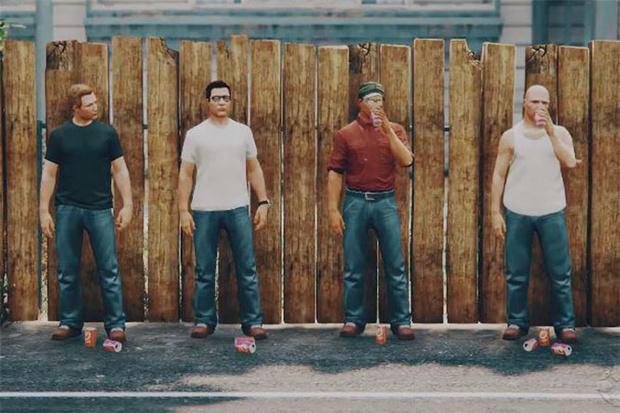 Фото №1 - Кинокомпания GTA V представляет:  «Царь горы»!