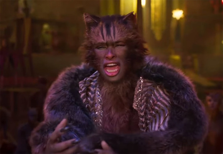 Фото №1 - Вышел трейлер фильма «Кошки», и он будто снят с помощью FaceApp из ада
