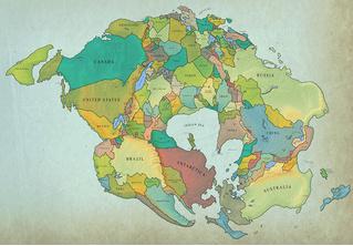 Как будет выглядеть Земля, если материки опять сойдутся в один суперконтинент