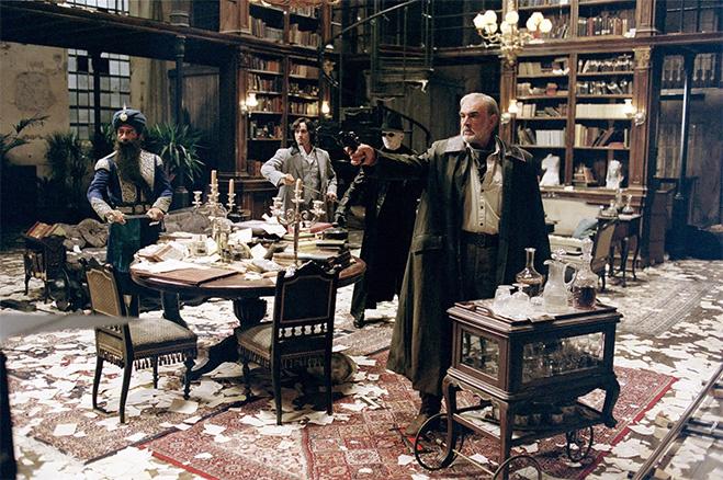 Лига выдающихся джентльменов, 2003 Шон Коннери