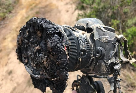 Вот что случается с камерой, которая снимает запуск ракеты-носителя