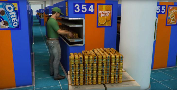 Фото №2 - В Дубае появится первый в мире супермаркет для ленивых автомобилистов! (ВИДЕО)