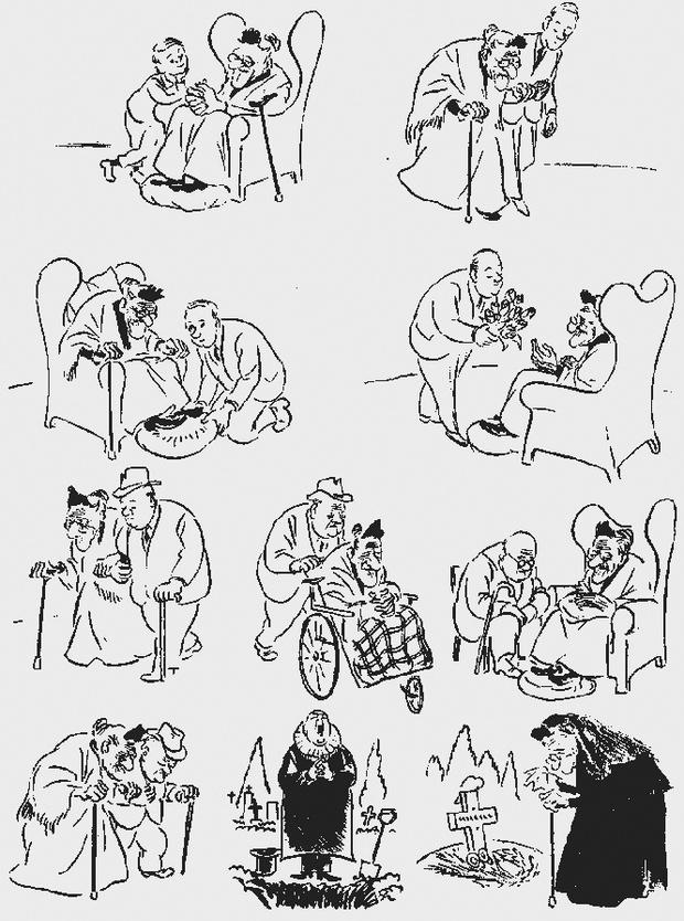 Фото №8 - Над чем смеялись наши отцы: карикатуры Херлуфа Бидструпа