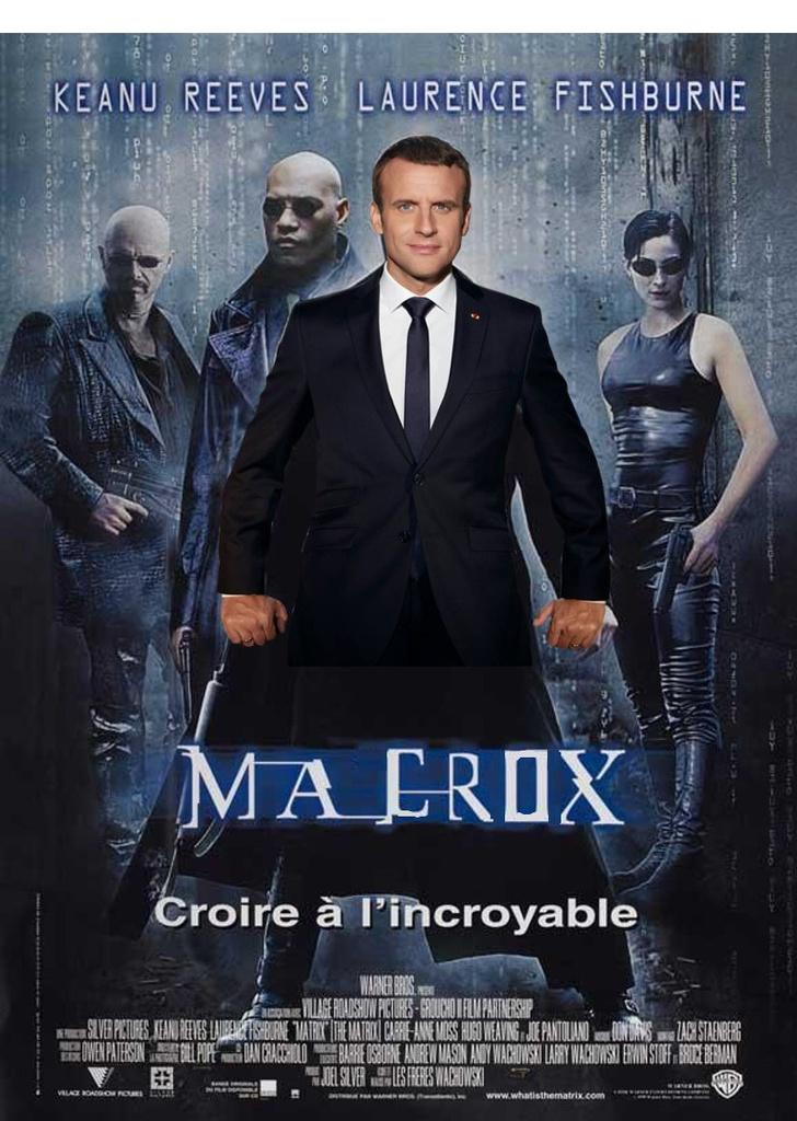 Фото №13 - Лучшие фотожабы на президента Франции Эммануэля Макрона!