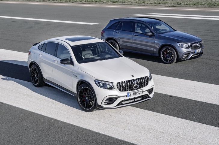Фото №1 - Mercedes-AMG представила самые быстрые кроссоверы в мире