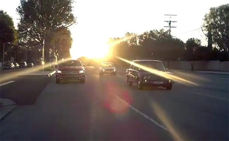 Фото №3 - Американцы тестируют «Жигули» в Калифорнии. Карбюраторное видео!
